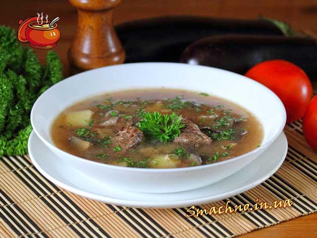 супы рецепты мясные с фото