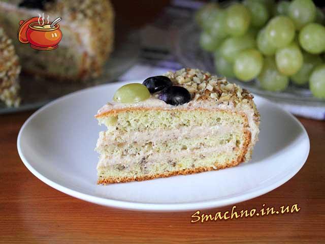 торт орех рецепт с фото