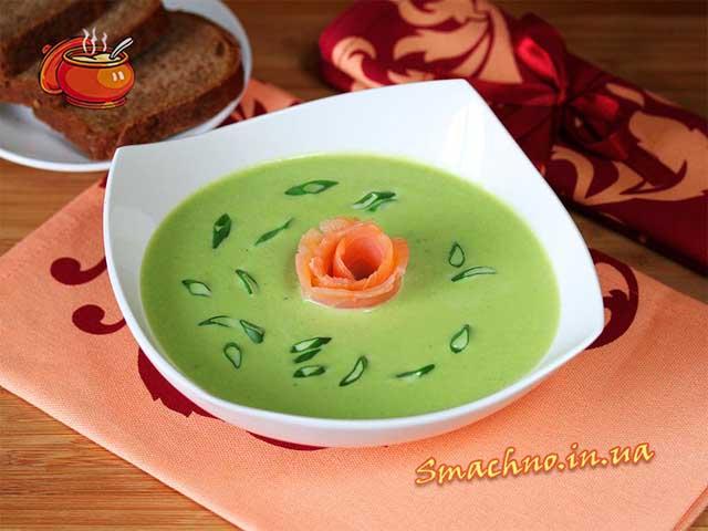 Крем-суп з зеленого горошку