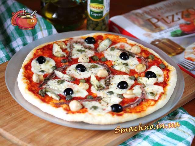 пицца каприциоза рецепт
