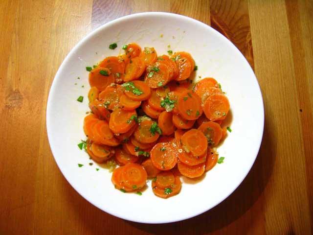Салаты с вареной морковью рецепты