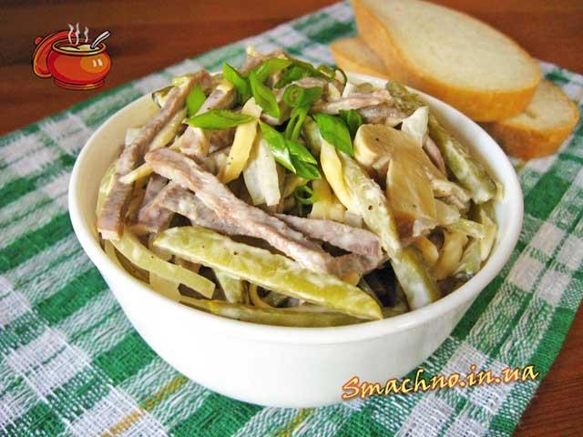 нові салати рецепти з фото