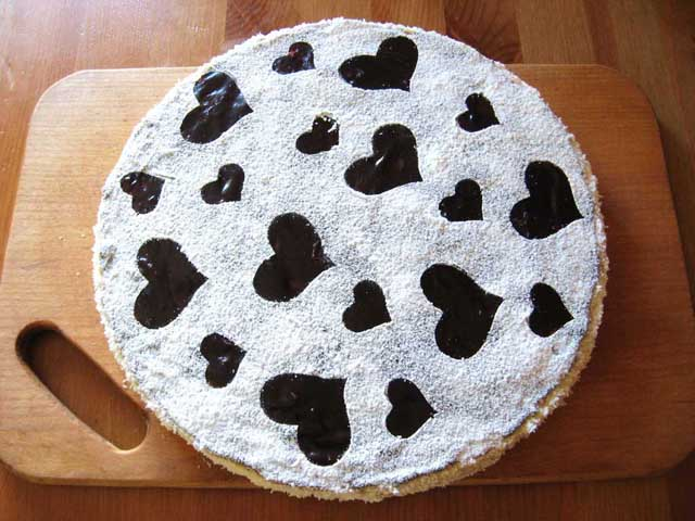 Торт Дамський каприз готовий.