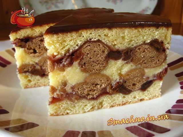 Торт Рушта. Фото.