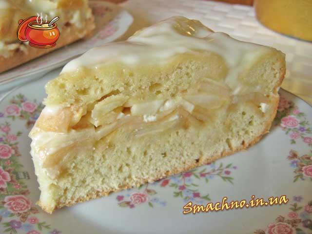 Яблучний пиріг. Фото.